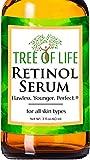 Tree of Life Retinol Serum for Face Wrinkles | Renewing Facial Serum with Botanical Hyaluronic Acid, 2 fl oz