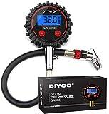 DIYCO D1 Digital Tire Pressure Gauge (RED)