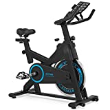 BTFING Indoor Exercise Cycling Bike Stationary, Fitness Cycle Workout Bike for Home with 35lbs Flywheel Phone Holder & 3.6' LCD Monitor for Home Gym & Workout Equipment