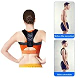 Back Posture Corrector Brace for Women Men and Kids,It Can Be Adjusted Freely to Relieve The Pain in Shoulder and Back Size L (35'-43')