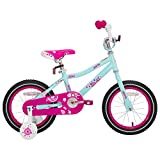 JOYSTAR 12 Inch Kids Bike with Training Wheels for 2 3 4 5 Years Old Girls, Starter Bike for Toddler, Birthday Gift, Blue Pink