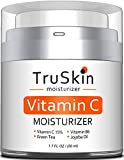 TruSkin Vitamin C Moisturizer Face, Neck & Décolleté Cream for All Skin Types with Vitamin B5 and Green Tea, 1.7 fl oz