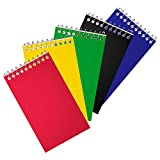 Staples Top Bound Memo Books, 3' x 5', 5/Pack (11491)