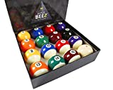 JAPER BEES Pool Balls Billiard Balls Set Regulation Size Classic Pro and Marble (Premium)
