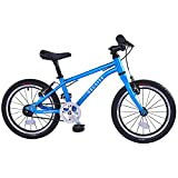 BELSIZE 16-Inch Belt-Drive Kid's Bike, Lightweight Aluminium Alloy Bicycle(only 12.57 lbs) for 3-7 Years Old (Blue)