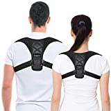 Posture Corrector & Back Support Brace for Women and Men by BRANFIT, Figure 8 Clavicle Support Brace is Ideal for Shoulder Support, Upper Back & Neck Pain Relief