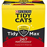 Purina Tidy Cats Clumping Cat Litter, Tidy Max 24/7 Performance Multi Cat Litter - 38 lb. Box