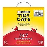 Purina Tidy Cats Clumping Cat Litter, 24/7 Performance Multi Cat Litter - 40 lb. Box
