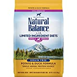 Natural Balance Limited Ingredient Diets Small Breed Dry Dog Food, Potato & Duck, 4.5 Pounds (Discontinued by Manufacturer)