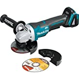 Makita XAG06Z 18V LXT Lithium-Ion Brushless Cordless 4-1/2' Paddle Switch Cut-Off/Angle Grinder Kit