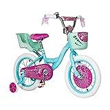 Boys Girls Kids Bike 12 14 16 18 Inch Kids Bike with Training Wheels, 18 20 Inch Kids Bicycle with Kickstand (14', Blue)