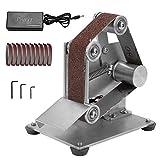 KKmoon Multifunctional Grinder Mini Electric Belt Sander DIY Polishing Grinding Machine Cutter Edges Sharpener (US 4)