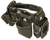 Gatorback B145 Carpenters Triple Combo w/Pro-Comfort Back Support Belt. For Best Fit Measure ACTUAL WAIST SIZE OVER CLOTHES. (Large 36'-40')