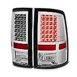 VIPMOTOZ LED Tail Light Lamp For 2009-2018 Dodge RAM 1500 2500 3500 - [Factory Incandescent Model] - Matte Black Housing, Driver & Passenger Side