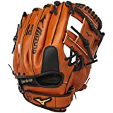 Mizuno Prospect Baseball Glove, Peanut, Youth/Kids, 11.5', Worn on left hand