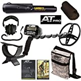 Garrett AT Pro Metal Detector with Pro Pointer II & Camo Digging Pouch