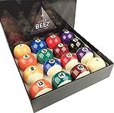 JaperBees Premium Professional Pool Table Billiard Ball Set, Regulation Size Resin Ball …