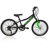 Hiland Cuddy 20 Inch Kids Bike Mountain Bicycle for Boys Girls Black