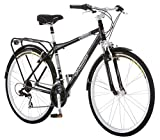 Schwinn Discover Hybrid Bike for Men and Women, 21-Speed, 28-inch Wheels, 18-inch/Medium Frame, Black