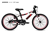Guardian Lightweight Kids Bike 20 Inch, Safe Patented SureStop Brake System, Kids Mountain Bike, Bike Sizes for Kids 3' 9' - 4' 5', Boys Bikes and Girls Bikes