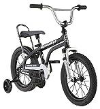 Schwinn Krate Evo Classic Kids Bike, 16-Inch Wheels, Boys and Girls Ages 3-5 Years, Removable Training Wheels, Coaster Brakes, Shadow Black