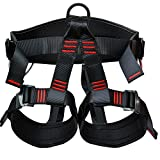 Shxmlf Safety Climbing Harness——Professional Mountaineering Rock Climbing Harness,Perfect Descending Rappelling Harness, Great Choice for Women Man Child Safety Half Body Guide Harness