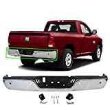 MBI AUTO - Chrome Steel, Rear Bumper Assembly for 2009-2018 Dodge RAM 1500 Pickup 09-18, CH1103122