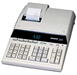 Monroe 8145 Heavy-Duty Standard Desktop Printing Calculator, 14 Digits, 5.0 Lines per Second.12'/3 mm Print Height, 13 Lines per Second Paper Advance Speed, 2 Independent Memory