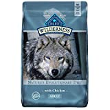 Blue Buffalo Wilderness High Protein Grain Free Natural Adult Dry Dog Food, Chicken 11-lb