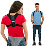 Posture Corrector for Men and Women - Upper Back Straightener Brace, Clavicle Support Adjustable Device for Thoracic Kyphosis and Providing Shoulder - Neck Pain Relief( Fits Chest Size 35' - 41')