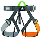 PETZL Gym Climbing Harness, Brown/Gray, One Size