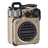 Muzen Wild Mini Rugged Outdoor Speaker, Bluetooth Radio Portable Speaker with Louder Volume, Crystal Clear Sound, Wireless Waterproof Speakers for Travel, Outdoors