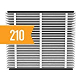 Aprilaire 210 Replacement Air Filter for Aprilaire Whole Home Air Purifiers, Clean Air Dust Filter, MERV 11 (Pack of 2)