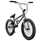 Mongoose Legion L60 Freestyle BMX Bike Line for Beginner-Level to Advanced Riders, Steel Frame, 20-Inch Wheels, Grey