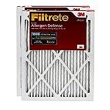 Filtrete MPR 1000 14x20x1 AC Furnace Air Filter, Micro Allergen Defense, 2-Pack
