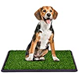 Giantex 30'x20' Puppy Pet Potty Grass Pee Pad Home Training Toilet Pad Grass Surface Dog Mat Turf Patch Indoor Outdoor
