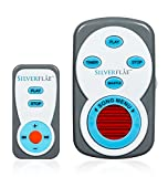 White Noise Machines by Silverflye- Portable Baby Sound Machine Sleep for Infants and Toddlers-Travel Noise Maker with Spa Sounds for Babies- Relaxation, Reduced Stress-Remote Control and USB included