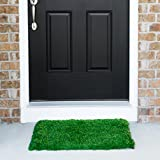 Grass Door Mat with SmartDrain Technology - Perfect for Your Garden, Balcony & Porch (24X30 Inches)