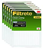 Filtrete Dust and Pollen Reduction Air Filter [Set of 6] Size: 24' H x 14' W x 1' D