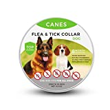SOBAKEN Flea and Tick Prevention for Dogs, Natural and Hypoallergenic Flea and Tick Collar for Dogs, One Size Fits All, 25 inch, 8 Month Protection, Charity