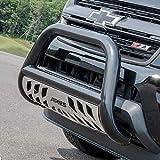ARIES B35-2000 3-Inch Black Steel Bull Bar, No-Drill, Select Toyota Tacoma