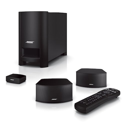 6. Bose CineMate GS Series II Digital Home Theater Speaker System