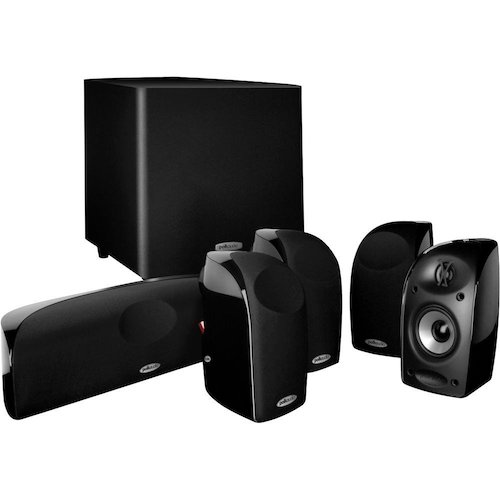 8. Polk Audio TL1600 5.1 Compact Home Theater System