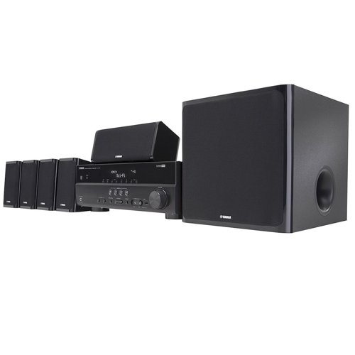 9. Yamaha YHT-497 5.1-Channel Home Theater System