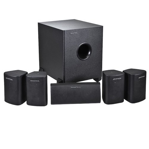 Best Home Theater Systems Under 300 5. Monoprice 108247 5.1-Channel Home Theater System