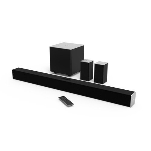 Best Home Theater Systems Under 300 8. VIZIO SB3851-CO 38-Inch 5.1 channel Sound Bar with Wireless Subwoofer and Satellite Speakers