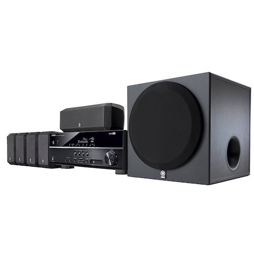 Best Home Theatre Systems: 4. Yamaha YHT-3920UBL 5.1-Channel Home Theater in a Box System with Bluetooth