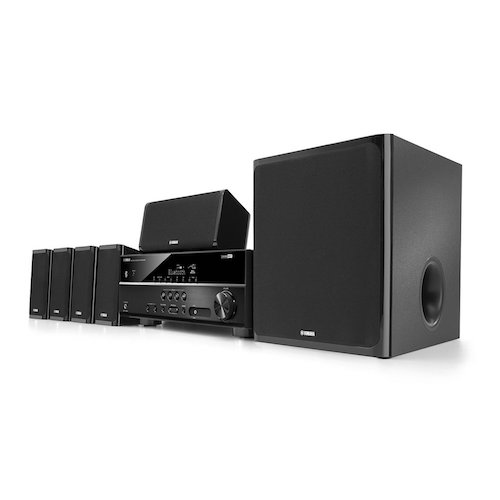 Best Home Theatre Systems: 5. Yamaha YHT-4920UBL 5.1-Channel Home Theater in a Box System with Bluetooth
