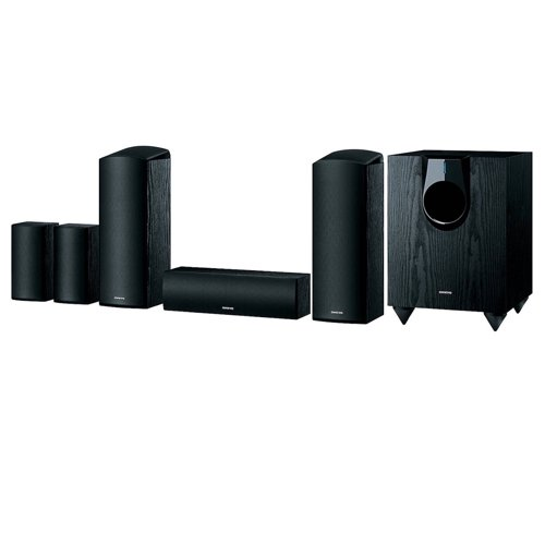Best Home Theater Systems Under 300 10. Onkyo SKS-HT594 5.1.2-Channel Home Theater Speaker System