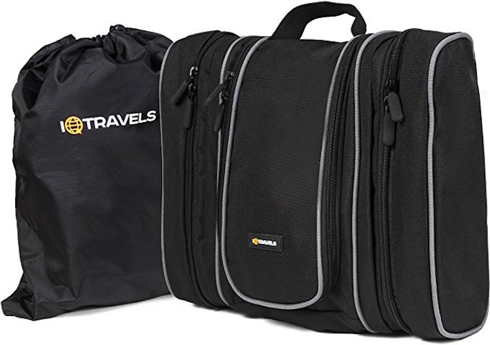 10. IQ Travels Toiletry Bag